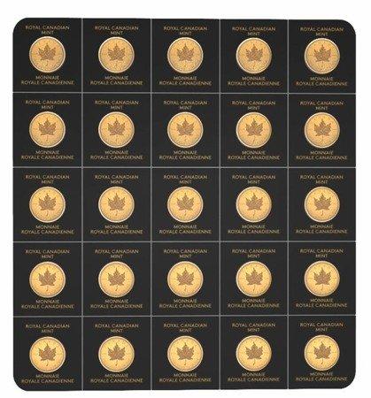 Kanadyjski Liść Klonowy Maplegram 25x1g 2019