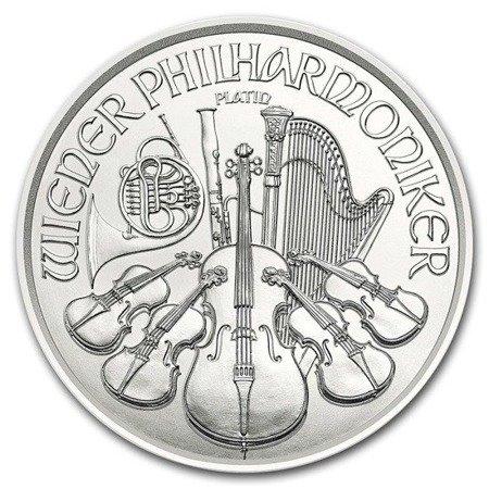 Platynowa Moneta Wiedeński Filharmonik 1 uncja