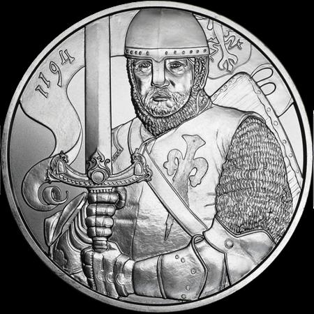Srebrna Moneta 825th Anniversary Of The Austrian Mint - Leopold V 1 uncja 24h