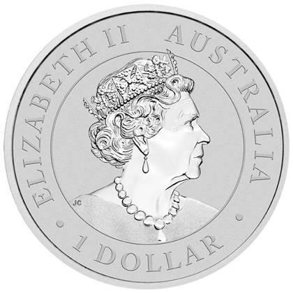 Srebrna Moneta Australijski Emu 1 uncja 2018r 24h
