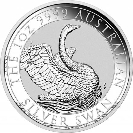 Srebrna Moneta Łabędź 1 uncja LIMITOWANA
