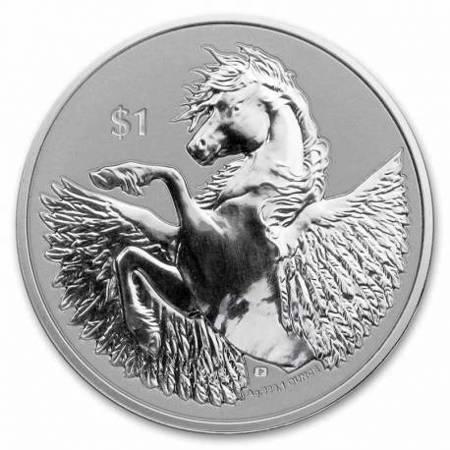 Srebrna Moneta Pegaz 1 uncja 24h