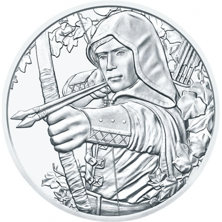 Srebrna Moneta Robin Hood 1 uncja