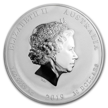 Srebrna Moneta Rok Świni 1000g (1kg)