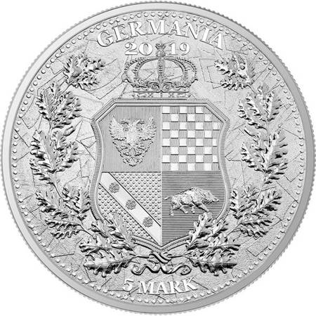 Srebrna Moneta The Allegories - Columbia & Germania 1 uncja