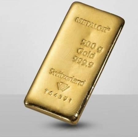 Sztabka złota 500g 24h