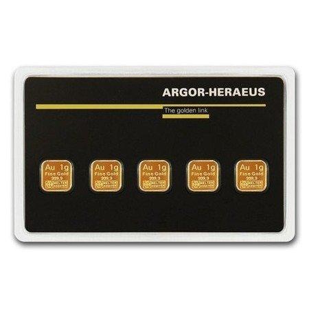 Sztabki Złota MultiCard 5x1g