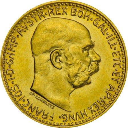 Złota Moneta 10 Koron Austriackich 3.38g 24h