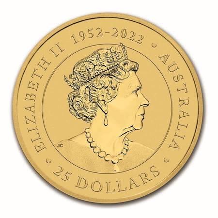 Złota Moneta Australijski Kangur 1/4 uncji