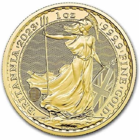 Złota Moneta Britannia 1 uncja 24h