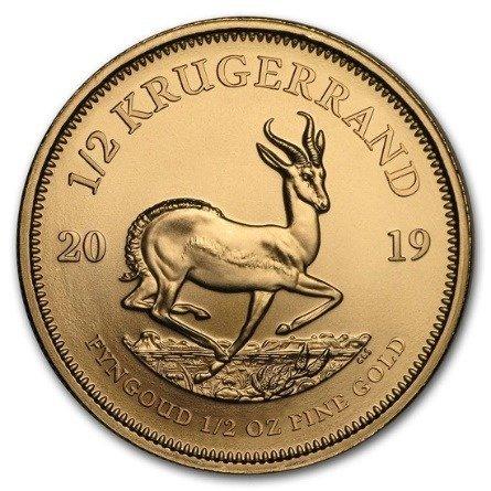 Złota Moneta Krugerrand 1/2 uncji 24h