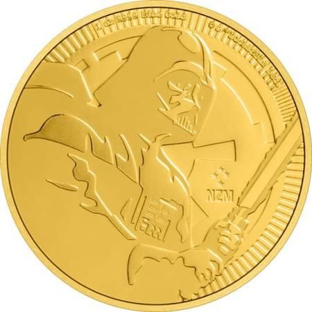 Złota Moneta Star Wars - Darth Vader 1 uncja LIMITOWANA